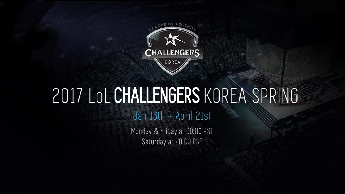 2017 LoL Challengers Korea[Spring]